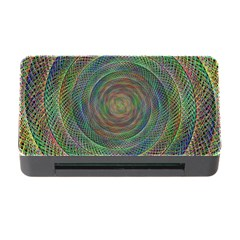 Spiral Spin Background Artwork Memory Card Reader With Cf by Nexatart