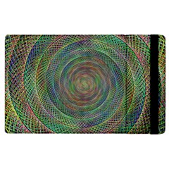 Spiral Spin Background Artwork Apple Ipad 2 Flip Case