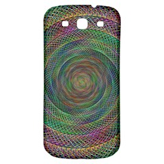 Spiral Spin Background Artwork Samsung Galaxy S3 S Iii Classic Hardshell Back Case by Nexatart