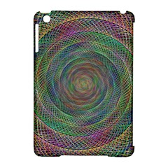 Spiral Spin Background Artwork Apple Ipad Mini Hardshell Case (compatible With Smart Cover) by Nexatart