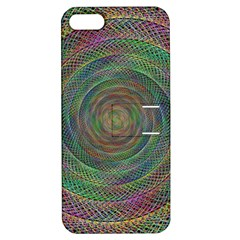 Spiral Spin Background Artwork Apple Iphone 5 Hardshell Case With Stand by Nexatart