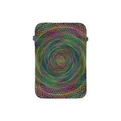 Spiral Spin Background Artwork Apple Ipad Mini Protective Soft Cases by Nexatart
