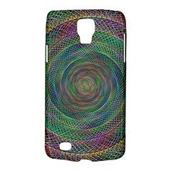 Spiral Spin Background Artwork Galaxy S4 Active by Nexatart