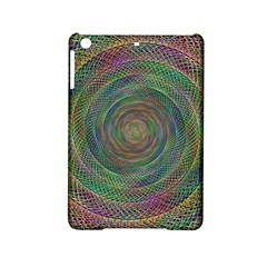 Spiral Spin Background Artwork Ipad Mini 2 Hardshell Cases by Nexatart