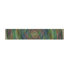 Spiral Spin Background Artwork Flano Scarf (mini)