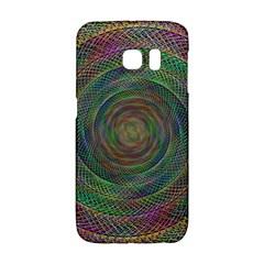 Spiral Spin Background Artwork Galaxy S6 Edge