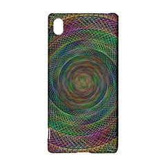 Spiral Spin Background Artwork Sony Xperia Z3+ by Nexatart