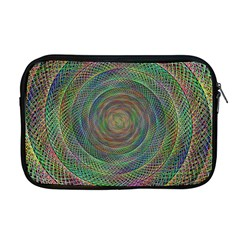 Spiral Spin Background Artwork Apple Macbook Pro 17  Zipper Case by Nexatart