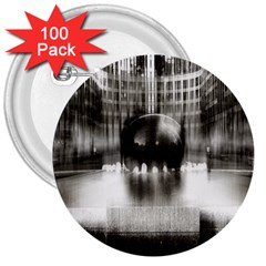 Black And White Hdr Spreebogen 3  Buttons (100 Pack)  by Nexatart