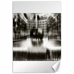 Black And White Hdr Spreebogen Canvas 20  X 30