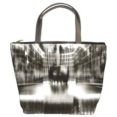 Black And White Hdr Spreebogen Bucket Bags