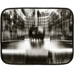 Black And White Hdr Spreebogen Fleece Blanket (mini) by Nexatart