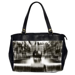Black And White Hdr Spreebogen Office Handbags (2 Sides)