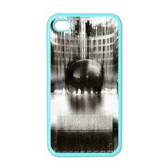 Black And White Hdr Spreebogen Apple Iphone 4 Case (color) by Nexatart