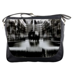 Black And White Hdr Spreebogen Messenger Bags