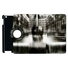 Black And White Hdr Spreebogen Apple Ipad 2 Flip 360 Case by Nexatart