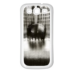 Black And White Hdr Spreebogen Samsung Galaxy S3 Back Case (white)
