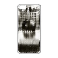 Black And White Hdr Spreebogen Apple Iphone 5c Seamless Case (white)