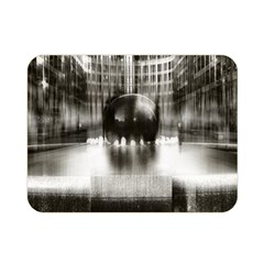 Black And White Hdr Spreebogen Double Sided Flano Blanket (mini)  by Nexatart