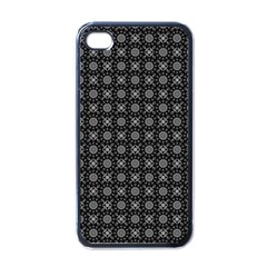 Kaleidoscope Seamless Pattern Apple Iphone 4 Case (black)