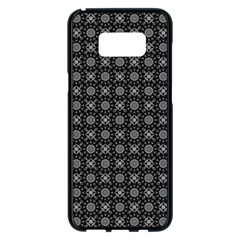 Kaleidoscope Seamless Pattern Samsung Galaxy S8 Plus Black Seamless Case