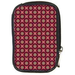 Kaleidoscope Seamless Pattern Compact Camera Cases