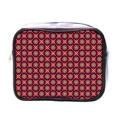 Kaleidoscope Seamless Pattern Mini Toiletries Bags by Nexatart