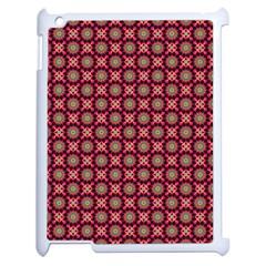 Kaleidoscope Seamless Pattern Apple Ipad 2 Case (white) by Nexatart