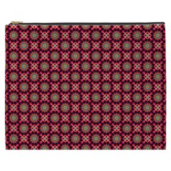 Kaleidoscope Seamless Pattern Cosmetic Bag (xxxl)  by Nexatart
