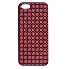 Kaleidoscope Seamless Pattern Apple Iphone 5 Seamless Case (black) by Nexatart