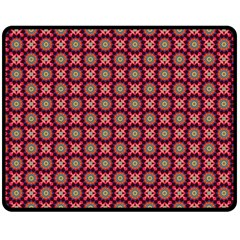 Kaleidoscope Seamless Pattern Double Sided Fleece Blanket (medium)