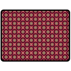 Kaleidoscope Seamless Pattern Double Sided Fleece Blanket (large)