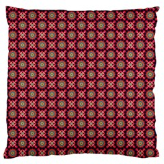 Kaleidoscope Seamless Pattern Large Flano Cushion Case (two Sides)