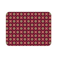 Kaleidoscope Seamless Pattern Double Sided Flano Blanket (mini)