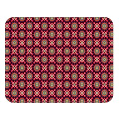 Kaleidoscope Seamless Pattern Double Sided Flano Blanket (large)