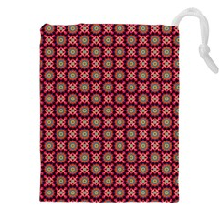 Kaleidoscope Seamless Pattern Drawstring Pouches (xxl)