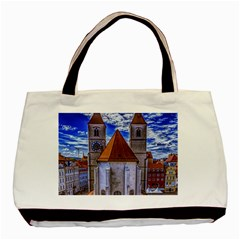 Steeple Church Building Sky Great Basic Tote Bag