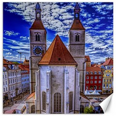 Steeple Church Building Sky Great Canvas 12  X 12