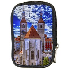 Steeple Church Building Sky Great Compact Camera Cases