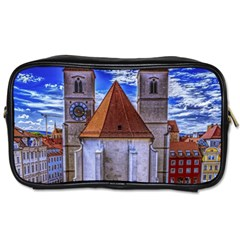 Steeple Church Building Sky Great Toiletries Bags 2 Side