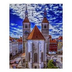 Steeple Church Building Sky Great Shower Curtain 60  X 72  (medium)  by Nexatart