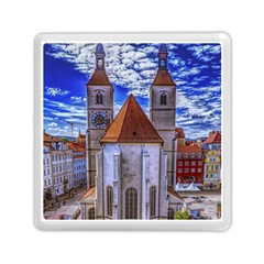 Steeple Church Building Sky Great Memory Card Reader (square)  by Nexatart