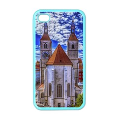 Steeple Church Building Sky Great Apple Iphone 4 Case (color) by Nexatart