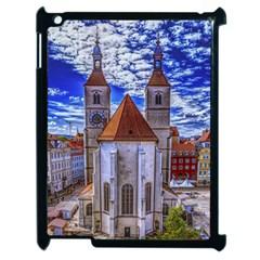 Steeple Church Building Sky Great Apple Ipad 2 Case (black) by Nexatart