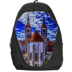 Steeple Church Building Sky Great Backpack Bag