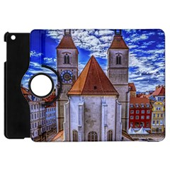 Steeple Church Building Sky Great Apple Ipad Mini Flip 360 Case
