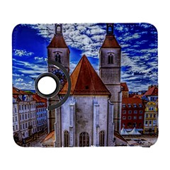 Steeple Church Building Sky Great Galaxy S3 (flip/folio) by Nexatart