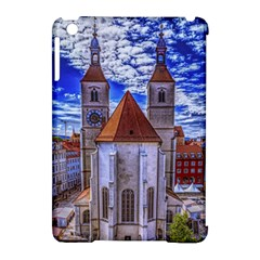 Steeple Church Building Sky Great Apple Ipad Mini Hardshell Case (compatible With Smart Cover)