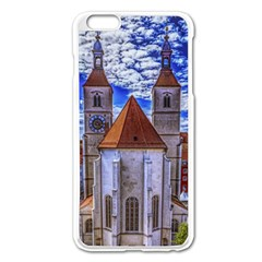 Steeple Church Building Sky Great Apple Iphone 6 Plus/6s Plus Enamel White Case by Nexatart