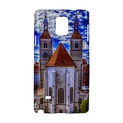 Steeple Church Building Sky Great Samsung Galaxy Note 4 Hardshell Case